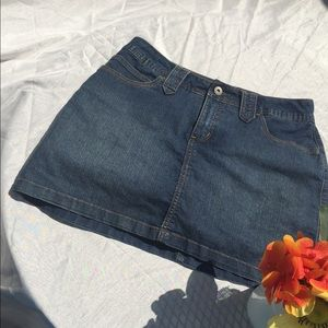 St. John's Bay denim skort